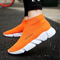 tanie Buty do biegania-Dla obu płci Tenisówki TR Bieganie Oddychalność, Lekkie materiały, Non-Slip Siateczka Black / Orange / Grey