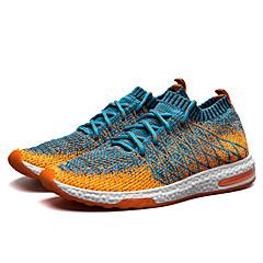 tanie Buty do biegania-Męskie Buty do biegania Guma Fitness / Chodzenie / Jogging Lekki, Trener, Oddychający Siateczka Black / Orange / Grey