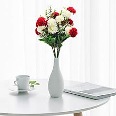 billige Kunstige blomster-Kunstige blomster 1 Gren Klassisk Moderne Moderne Pastorale Stilen Hortensiaer Bordblomst