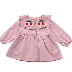 billige Babytøj-Baby Pige Frugt Langærmet Kjole