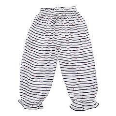 billige Babyunderdele-Baby Pige Gade Stribet Bomuld Bukser