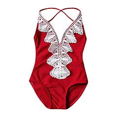 billige Badetøj til piger-Baby Pige Patchwork Badetøj