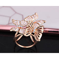 Women's Classic Brooches - Butterfly Fashion, British Brooch White / Black For Formal / Date