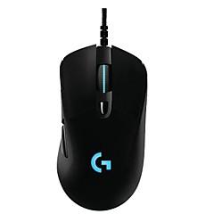Χαμηλού Κόστους Ποντίκια-Ενσύρματο USB Gaming Mouse Οπτικό G403 6 pcs κλειδιά Φως LED 5 Ρυθμιζόμενα επίπεδα DPI
