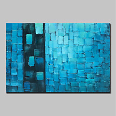 cheap -Mintura® Hand Painted Abstract Color Lump Oil Painting on Canvas Modern Wall Art Picture for Home Decoration Ready To Hang