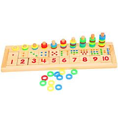 hesapli Matematik Oyuncakları-Montessori Eğitim Araçları Ahşap Yapbozlar Eğitim Ahşap 1pcs Çocuklar için Genç Erkek Hediye