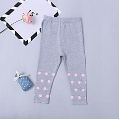 billige Bukser og leggings til piger-Børn / Baby Pige Prikker Bukser