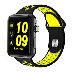 tanie Inteligentne zegarki-Inteligentny zegarek DM09Plus na Spalonych kalorii / Odbieranie bez użycia rąk / Kamera / Śledzenie Odległość / Krokomierze Krokomierz / Powiadamianie o połączeniu telefonicznym / Rejestrator