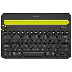 billiga Keyboards-Factory OEM K480 2.4G Tangentbord 78 pcs Office Keyboard AAA Batteri driven