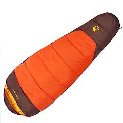 billiga Sovsäckar, madrasser och liggunderlag-Jungle King Sovsäck Utomhus 0 °C Mumie Ihåliga bomull för Alla årstider