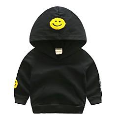 tanie Odzież dla chłopców-Dzieci / Brzdąc Dla chłopców Geometryczny Długi rękaw Bluza z kapturem / bluza