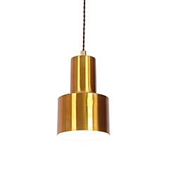 billiga Dekorativ belysning-norra europa modern galvaniserad metall skugga matsal mini hängande ljus använda 1 e26 / e27 lampor