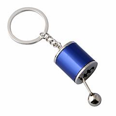 baratos Chaveiros-Chaveiro Prata / Vermelho / Azul Forma Geométrica Liga Casual Para Diário / Escola