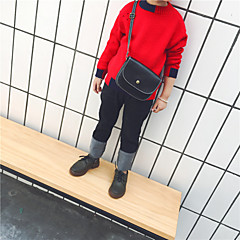 baratos Roupas de Meninos-Infantil Para Meninos Sólido Manga Longa Suéter & Cardigan