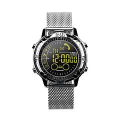 tanie Inteligentne zegarki-Inteligentny zegarek EX28A na Android iOS Bluetooth Wodoodporny Długi czas czuwania Rejestr ćwiczeń Śledzenie Odległość Informacje Stoper Krokomierz Powiadamianie o połączeniu telefonicznym siedzący