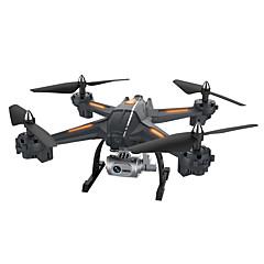 billige Fjernstyrte quadcoptere og multirotorer-RC Drone XINGYUCHUANQI XY-S6 RTF 4 Kanaler 6 Akse 2.4G Med HD-kamera 3.0 720 Fjernstyrt quadkopter En Tast For Retur / Hodeløs Modus / Tilgang Real-Tid Videooptakelse Fjernstyrt Quadkopter / Sveve