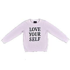 billige Sweaters og cardigans til drenge-Børn Drenge Ensfarvet / Trykt mønster Langærmet Trøje og cardigan