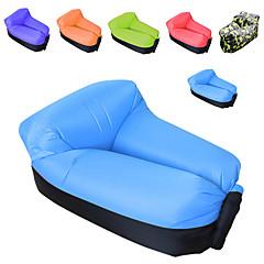 billiga Sovsäckar, madrasser och liggunderlag-Uppblåsbar soffa / Luftbädd / Luftmadrass Utomhus Camping Vattentät, Bärbar, Snabb uppblåsbar oxford Fiske, Strand, Camping för 1 person
