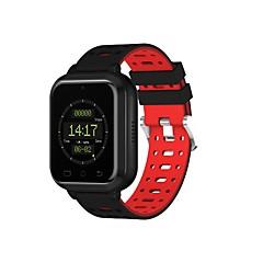 tanie Inteligentne zegarki-Inteligentny zegarek M1 na Android iOS Bluetooth Wodoodporny Pulsometry Pomiar ciśnienia krwi Ekran dotykowy Spalonych kalorii Stoper Krokomierz Powiadamianie o połączeniu telefonicznym Rejestrator