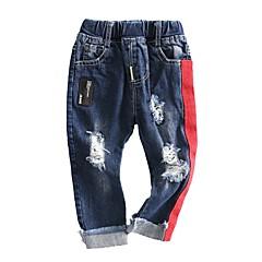 billige Jeans til drenge-Børn Drenge Patchwork Jeans