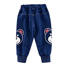 billige Drengebukser-Børn Drenge Geometrisk Jeans