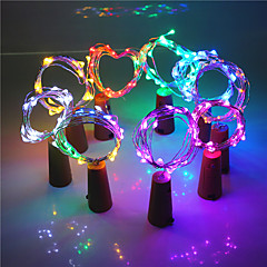 2m Flexible LED Light Strips Wine Bottle Stopper Strips 20 LEDs Decorative Party