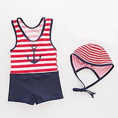 billige Badetøj til drenge-Børn / Baby Drenge Strand Stribet Badetøj