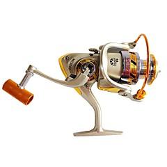 billiga Fiskerullar-Fiskerullar Snurrande hjul 5.5:1 Växlingsförhållande+10 Kullager HÖGERHÄNT Sjöfiske / Färskvatten Fiske / Karpfiske