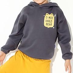 billige Hættetrøjer og sweatshirts til drenge-Baby Drenge Trykt mønster Langærmet Hættetrøje og sweatshirt