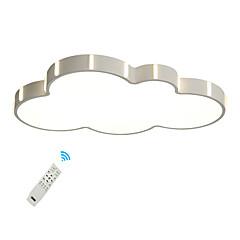 billiga Dekorativ belysning-UMEI™ Geometriskt / Originella Takmonterad Glödande Målad Finishes Metall Akryl Kreativ, Ny Design 110-120V / 220-240V Varmt vit / Vit / Dimbar med fjärrkontroll LED-ljuskälla ingår / Integrerad LED