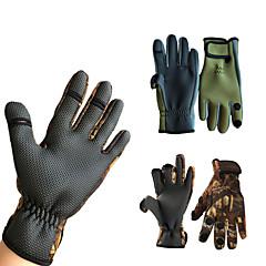 Χαμηλού Κόστους -Γάντια Ψαρέματος Ολόκληρο το Δάχτυλο Θαλάσσιο Ψάρεμα Αναπνέει Διατηρείτε Ζεστό Αντιολισθητικό PU δέρμα Νεοπρένιο Silica Gel Άνοιξη, Φθινόπωρο, Χειμώνας, Καλοκαίρι Ανδρικά Γυναικεία