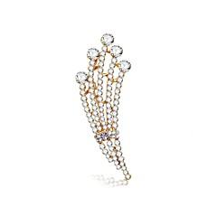 billige Motebrosjer-Dame Diamant Klassisk Nåler - Europeisk, Romantikk, Søt Brosje Sølv Til Engasjement / Seremoni