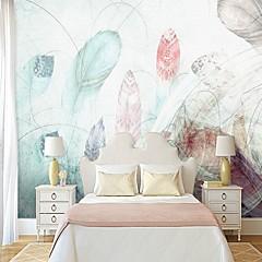 billige Tapet-bakgrunns / Veggmaleri Lerret Tapetsering - selvklebende nødvendig Maleri / Art Deco / Flise