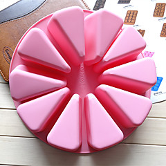 billige Bakeredskap-Bakeware verktøy silica Gel Kreativ Kjøkken Gadget Originale kjøkkenredskap Rund Cake Moulds 1pc