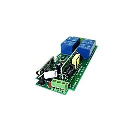 voordelige -leertype 220v 4-weg afstandsbediening schakelaar metalen drukknop vierkante 4-knops draadloze afstandsbediening