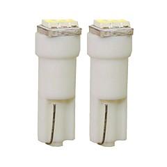 billige Interiørlamper til bil-SENCART 2pcs T5 Bil Elpærer 1 W SMD 3014 30 lm 3 LED interiør Lights Til