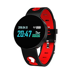 cheap -Indear Q07 Smart Bracelet Smartwatch Android iOS Bluetooth Sports Waterproof Heart Rate Monitor Blood Pressure Measurement Touch Screen Pedometer Call Reminder Activity Tracker Sleep Tracker