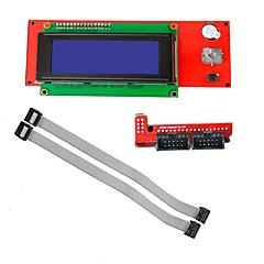 cheap -3D Printer Reprap Smart Controller Reprap Ramps 1.4 2004 LCD Control