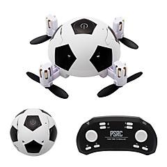 billige Fjernstyrte quadcoptere og multirotorer-RC Drone BY-2 Football Drone BNF 6ch 6 Akse 2.4G Fjernstyrt quadkopter En Tast For Retur / Hodeløs Modus Fjernstyrt Quadkopter / Fjernkontroll / Brukerhåndbok