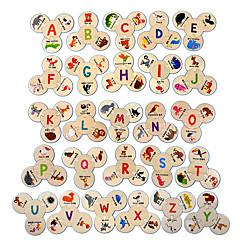 baratos -Quebra-Cabeças de Madeira Animais Legal Requintado De madeira 1 pcs Crianças Todos Brinquedos Dom