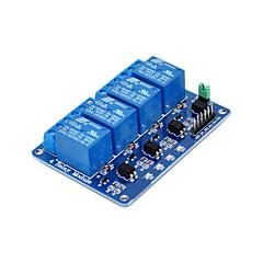 voordelige -vierweg relais -5v blauw