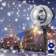 billiga Dekorativ belysning-brelong christmas led utomhus snowflake projektor fjärrkontroll 1 st