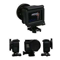 tanie Kamery sportowe i akcesoria GoPro-Nakładka na obiektyw Okładki / Ochrona Dla Kamera akcji Gopro 5 Ćwiczenia na zewnątrz / Multisport / Na zewnątrz Szkło / ABS + PC - 1 pcs