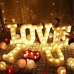 billige Bryllupsdekorasjoner-LED Lys PVC Bryllupsdekorasjoner Bryllup / Fest / aften Kreativ / Bryllup / Vintage Theme Alle årstider