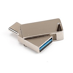 baratos Pen Drive USB-32GB unidade flash usb disco usb Tipo-C Metal Irregular Armazenamento Wireless