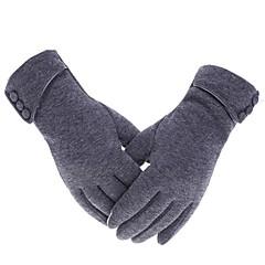 baratos Luvas de Motociclista-Dedo Total Mulheres Motos luvas Lã Respirável / Manter Quente