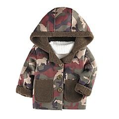 billige Jakker og frakker til drenge-Børn Drenge Patchwork Langærmet Jakke og frakke