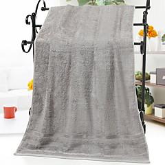 billiga Handdukar och badrockar-Överlägsen kvalitet Badhandduk, Enfärgad 100% Bambufiber Badrum 1 pcs