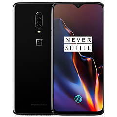 "billige Telefoner og nettbrett-ONEPLUS 6T Global Version 6.4 tommers "" 4G smarttelefon (8GB + 128GB 20+16 mp Snapdragon 845 3700 mAh mAh)"