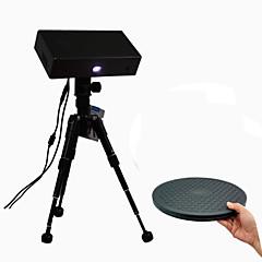 tanie Drukarki 3D-Thunk3d Cooper Freescan Desktop 3D Scanner z obrotnicą obrotnicy z automatycznym obrotem o wysokiej precyzji do 0.04mm